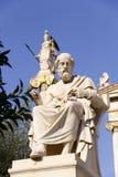 Griechischer alter Philosoph Platon Stockbild