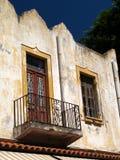 Griechischer Balkon Stockbilder