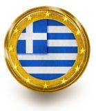 Griechischer Euro Stockfotos