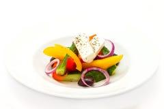 Griechischer Gemüsesalat Stockbilder
