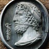 Griechischer Gott Asclepius Lizenzfreies Stockfoto