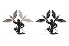 Griechischer Gott Hermes Lizenzfreie Stockfotografie