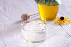 Griechischer Joghurt Lizenzfreie Stockfotografie