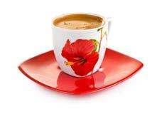 Griechischer Kaffee. Getrennt auf Weiß Lizenzfreie Stockfotos