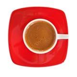 Griechischer Kaffee. Getrennt auf Weiß Stockbild