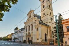 Griechischer Katholisch-Bistum in Presov, Slowakei stockbild