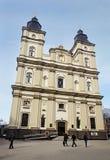 Griechischer Katholisch-Kathedrale in Ivano-Frankivsk, Ukraine stockfotos