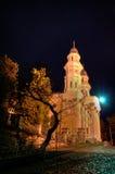Griechischer Katholisch-Kathedrale in Uzhhorod Stadt Lizenzfreies Stockbild