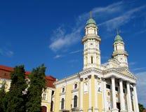 Griechischer Katholisch-Kathedrale, Uzhhorod, Ukraine Stockbild