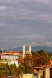 Griechischer Katholisch-Kathedrale in Uzhhorod, Ukraine lizenzfreie stockfotografie