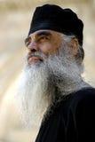 Griechischer orthodoxer Priester, Jerusalem Stockbilder