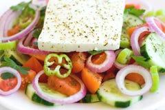Griechischer Salat stockfotos