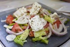 Griechischer Salat. Stockfotografie
