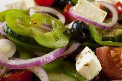 Griechischer Salat stockfotografie