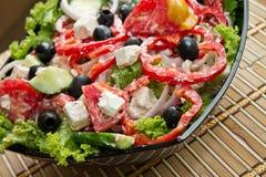 Griechischer Salat Lizenzfreie Stockbilder