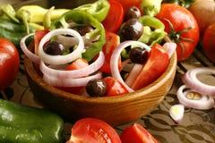 Griechischer Salat Lizenzfreie Stockfotos