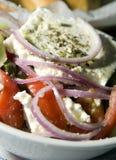 Griechischer Salatfetakäse Griechenland stockfotos