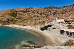 Griechischer Strand Lizenzfreie Stockfotos