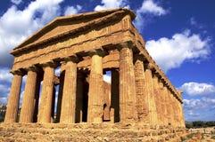 Griechischer Tempel Lizenzfreie Stockfotografie