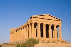 Griechischer Tempel Lizenzfreie Stockbilder