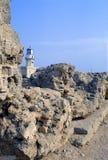 Griechischer Tempel von Hera Lacinia, Italien Lizenzfreie Stockfotografie