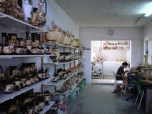 Griechischer Tonwarenmaler Lizenzfreie Stockfotografie