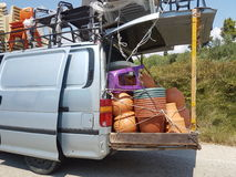Griechischer-Transport Stockfotografie