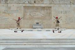 Griechisches Ändern des Schutzes weit Lizenzfreie Stockfotografie