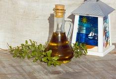 Griechisches Öl Lizenzfreie Stockfotos