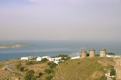 Griechisches Ackerland Stockfotografie