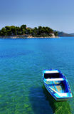 Griechisches Boot Stockfotografie