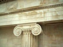 Griechisches Collumn Lizenzfreies Stockfoto