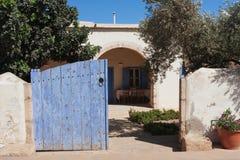 Griechisches Dorf Lizenzfreies Stockfoto