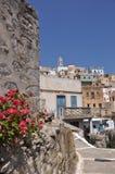 Griechisches Dorf Olympos Stockbilder