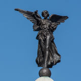 Griechisches Göttin-Nike Winged Victory Skipton War-Denkmal Stockbild