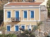 Griechisches Haus Stockbild