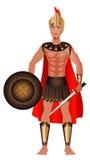 Griechisches Karnevals-Kostüm Lizenzfreie Stockfotos