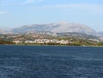 Griechisches Land Lizenzfreies Stockbild