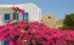 Griechisches Landhaus Lizenzfreies Stockfoto