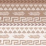 Griechisches nahtloses Muster Stockfotografie