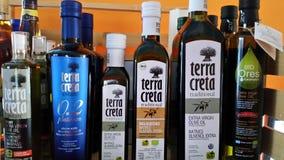 Griechisches Olivenöl Stockfotografie