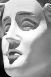 Griechisches Statuen-Porträt Stockbilder