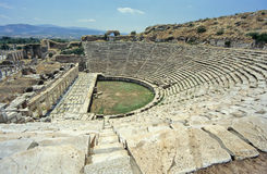 Griechisches Theater Lizenzfreie Stockfotos
