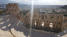 Griechisches Theater Stockfoto