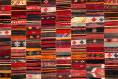 Griechisches traditionelles Patchwork Lizenzfreie Stockfotos