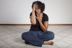 Grief and Despair royalty free stock photography