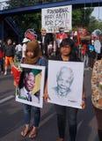 Grief for Mandela Royalty Free Stock Image