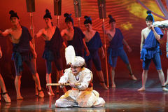 """The grief stricken Hamadi-Dance drama """"The Dream of Maritime Silk Road"""". Dance drama """"The Dream of Maritime Silk Road"""" centers on the plot of two Stock Images"""