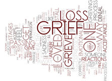 From Grief To Joy Text Background Word Cloud Concept Stock Photo
