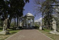 Grieken-beeldhouwwerken in Buenos aires Stock Afbeelding